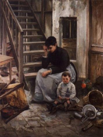mère et enfant by marguerita pillini