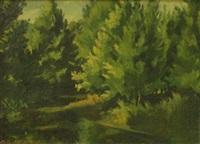 landscape by albert ernest newbury