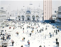 a portfolio of landscapes with figures (portfolio of 52) by massimo vitali