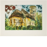 sheet 22 1/2 x 29 1/2 inches; 572 x 749 mm by john piper