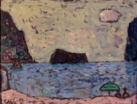beach on the costa brava by otto abt