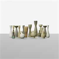 collection of seventeen vases (set of 17) by carl-harry stålhane
