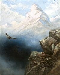sasfészek sziklaszirtek között by charles whymper