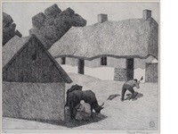 a polish homestead by robert polhill bevan