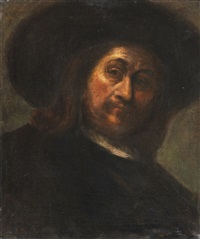 porträt eines herrn mit hut by anonymous-dutch (17)
