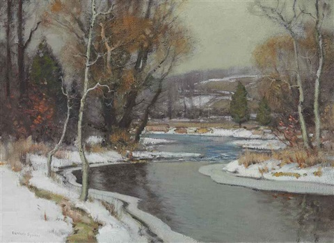 outlet below throopsville by george gardner symons