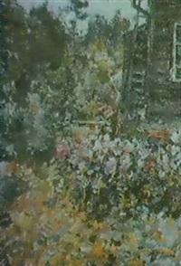 le jardin de la datcha by aleksandr pavlovich gushchin