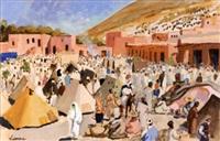 marché d'imi-n' tanout, haut-atlas by pierre lissac