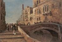 venezia, passeggiata sul ponte by g. cortese