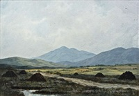 on the road to fintown, from dungloe, co donegal by douglas alexander
