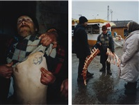untitled (from case history 1997-8) (2 works) by boris mikhailov