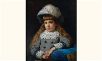 portrait de jeune fille by william henry lippincott