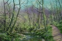 welsh stream by john caesar smith