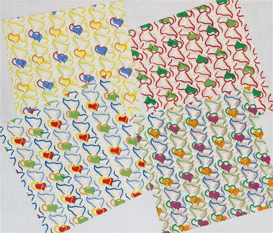 vier tücher by konrad lueg
