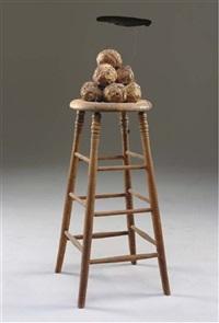 elephant stool with shade by david ireland