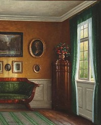 interior by hans hilsoe