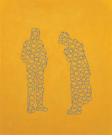 Speech balloon man - prayer by Kengo Nakamura on artnet