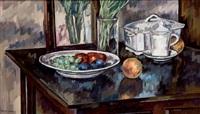plato con frutas by antonio santos lloro