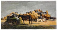 work on the farm by grigorii alexandrovich sretinsky