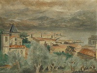 la baie d'ajaccio by paul maas
