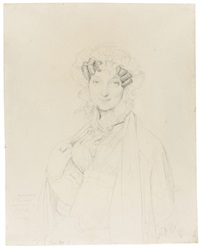 portrait of madame joseph balze by jean-auguste-dominique ingres