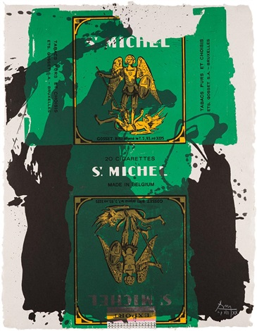 st michael iii by robert motherwell