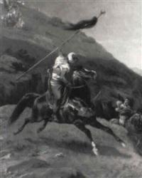 le porte-étendard by alfred couverchel