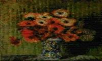 anemoni in vaso by enrico della (lionne) leonessa