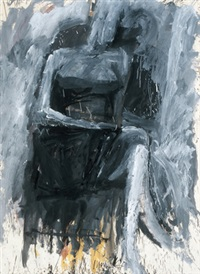 seated woman by robert nelson markle