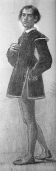 personaje medieval by joan llimona y bruguera