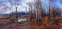 bosque en primavera by ramiro lafuente
