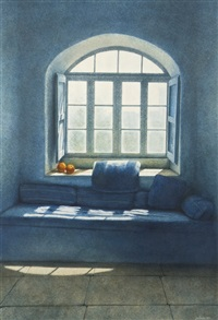 sunlit window by joe dunne