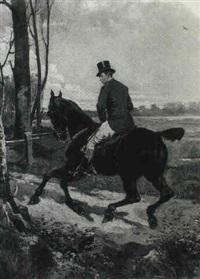 the huntsman by ernest alexandre bodoy