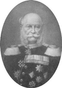 brustbildnis kaisers wilhelm i in uniform mit reichem ordenschmuck und épauletten by paul rudolf linke
