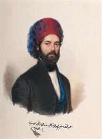 achmed muhtar effendi (after schrozberg) by alois von anreiter