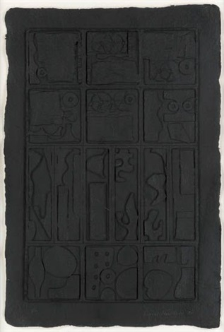 moon garden by louise nevelson