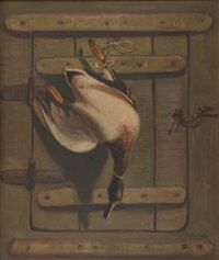 hanging mallard by william gurry