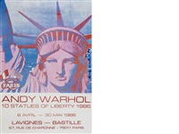 liberty by andy warhol