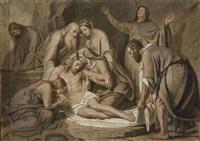 la déposition de croix by alexandre-jean-baptiste hesse