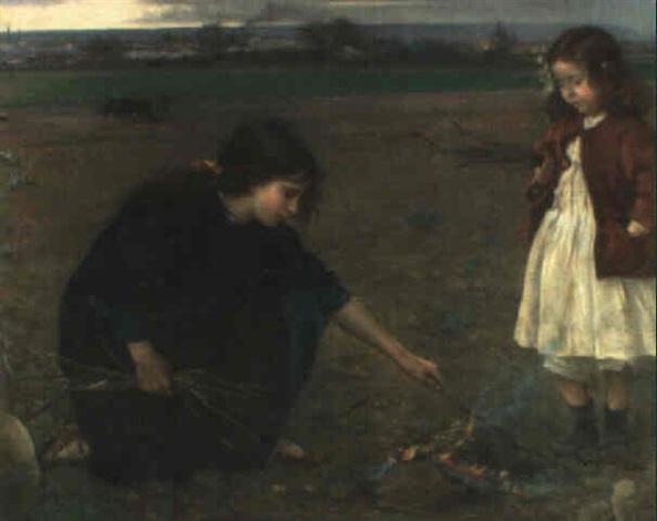 encendiendo una fogata by manuel gonzalez santos