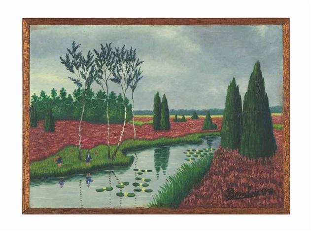 landscape by camille bombois