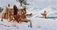a mountain man's christmas by harvey william (bud) johnson