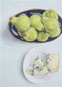 gorgonzola and pears by blaise smith