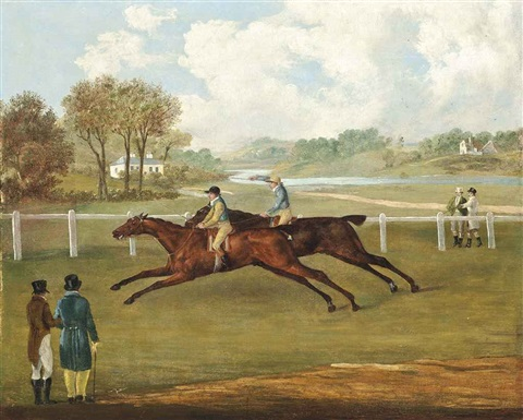 a close finish by john nost sartorius