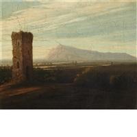 ruins in italy by washington allston