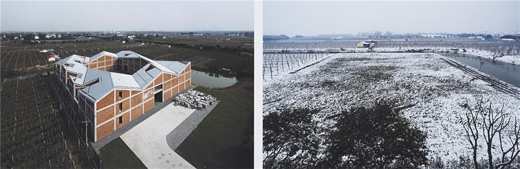 ai weiwei's shanghai studio (diptych) by ai weiwei