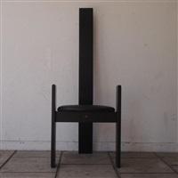 suite de 6 chaises à haut dossier, modèle golen (set of 6) by vico magistretti