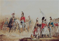 types of the british army by t. paul (paul johann georg) fischer