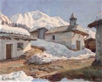 la frasse (hameau le rionay), vallée de contamines et le dôme de miage by angelo abrate