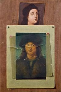 trompe l'oeil mit raphael portraits by francesco alegiani
